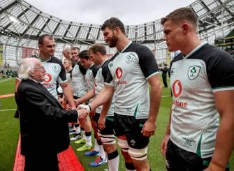 Jean Kleyn On His First Cap For Ireland