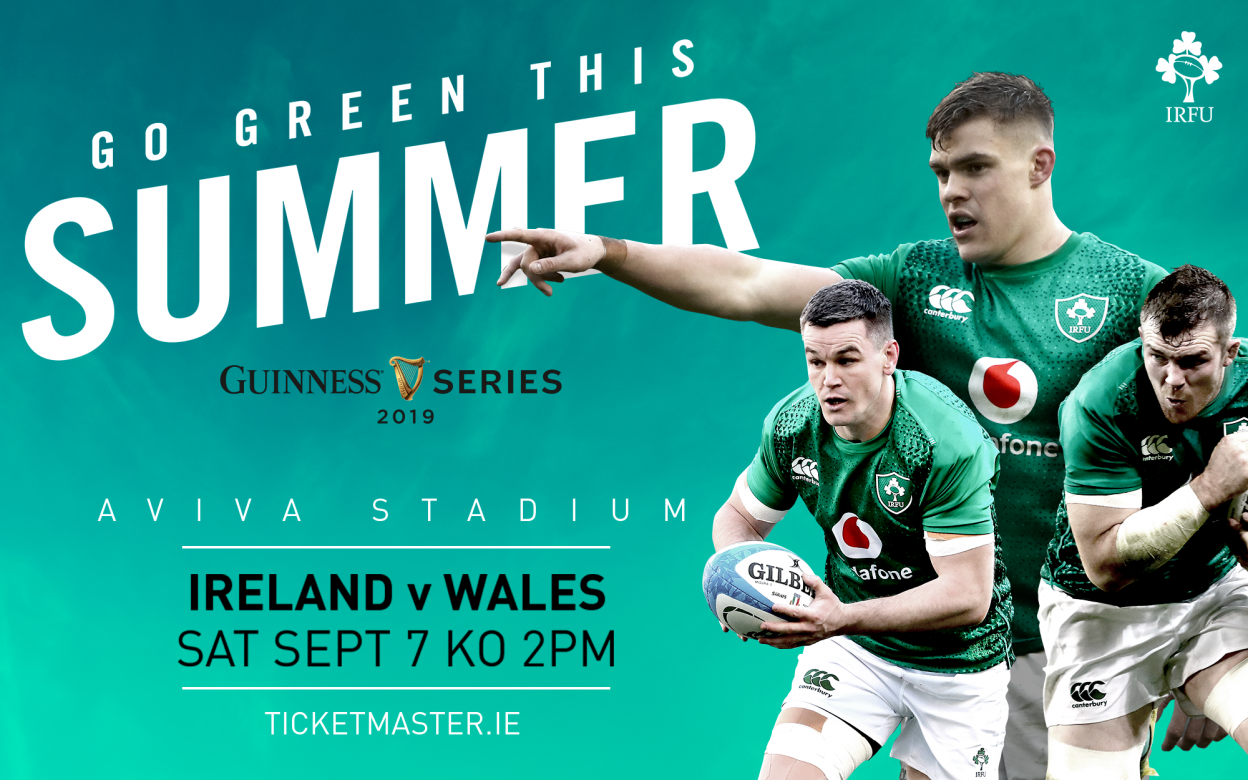 Tickets For Ireland v Wales Selling Fast