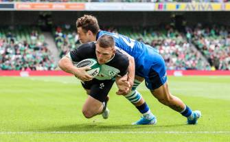 Five-Try Triumph Gets Ireland Up And Running