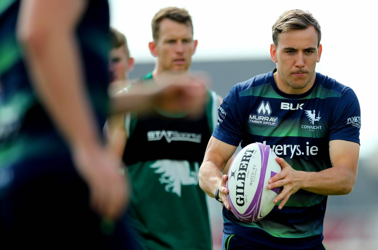 Porch And Burke Included For Connacht's Pre-Season Opener Against Oyonnax