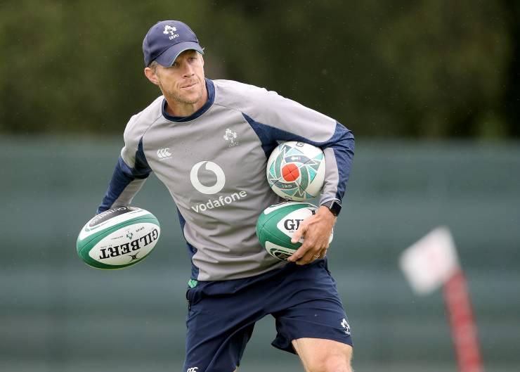Forwards coach Simon Easterby Mandatory Credit ©INPHO/Dan Sheridan