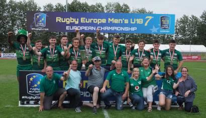 European Sevens Title Joy For Ireland Under-18 Men