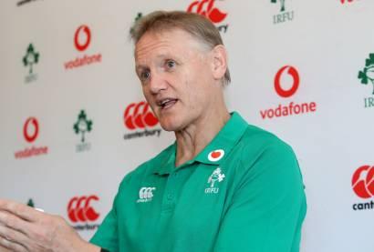 Ireland Rugby Press Conference, The Campus, Faro, Portugal 22/8/2019 Head coach Joe Schmidt Mandatory Credit ©INPHO/Dan Sheridan
