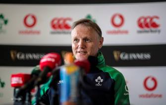Ireland Rugby Press Conference, Carton House, Co. Kildare 27/8/2019 Head coach Joe Schmidt Mandatory Credit ©INPHO/Billy Stickland
