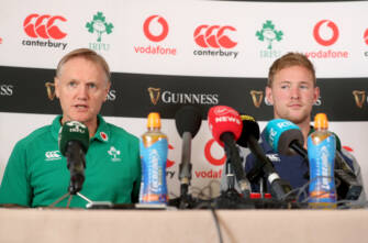 Ireland v Wales Team Announcement Press Conference