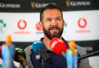 Ireland Team Announcement Press Conference