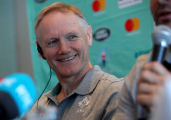 Ireland Rugby Press Conference, New Otani Hotel, Makuhari, 15/9/2019 Head coach Joe Schmidt Mandatory Credit ©INPHO/Dan Sheridan