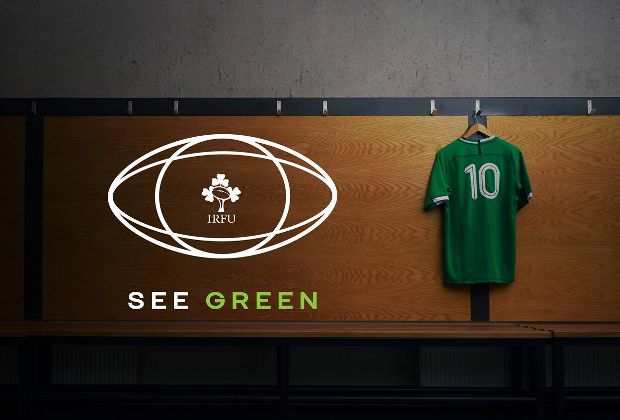 Colour-Blind Irish Rugby Fans To See Green For The First Time