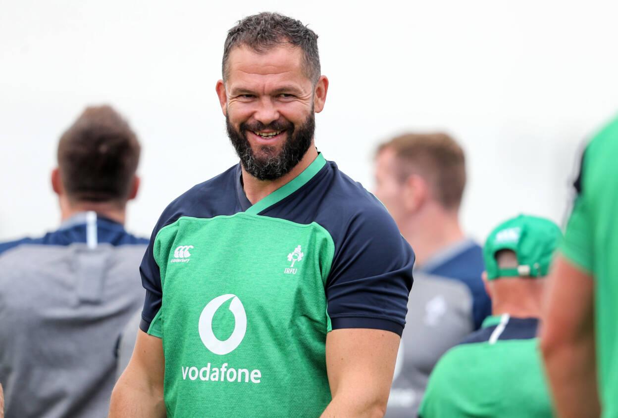 Ireland Rugby Training, Ichihara Suporeku Park, Tokyo 14/9/2019 Defence coach Andy Farrell Mandatory Credit ©INPHO/Dan Sheridan