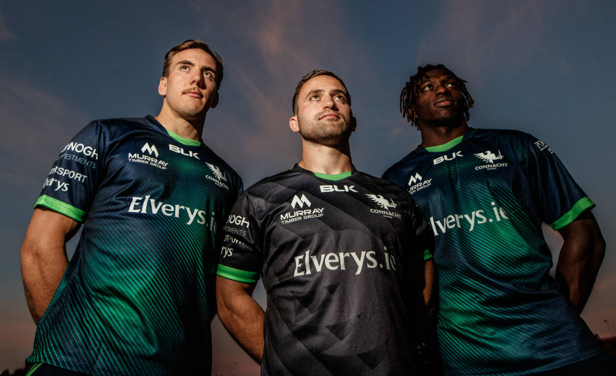 Connacht Reveal Away And European Jerseys For New Season
