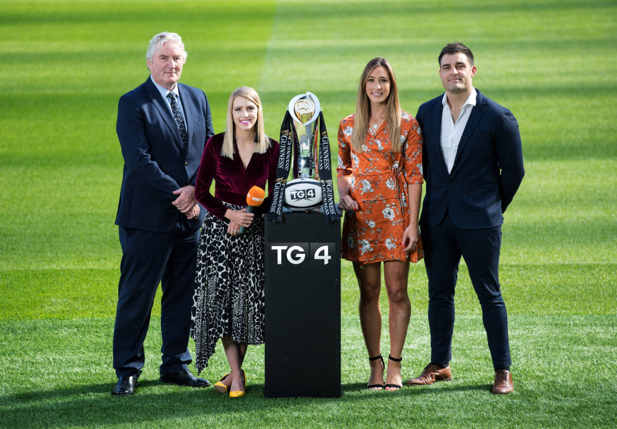 TG4's Rugbaí Beo Is Back For GUINNESS PRO14 Kick-Off