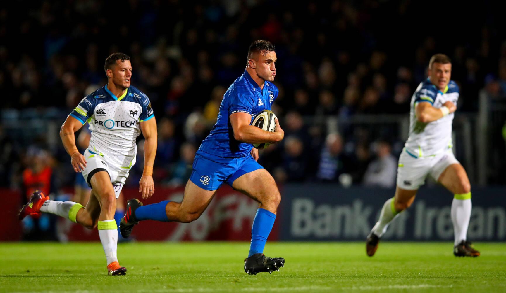Ronan Kelleher Stars In Leinster's Eight-Try Triumph