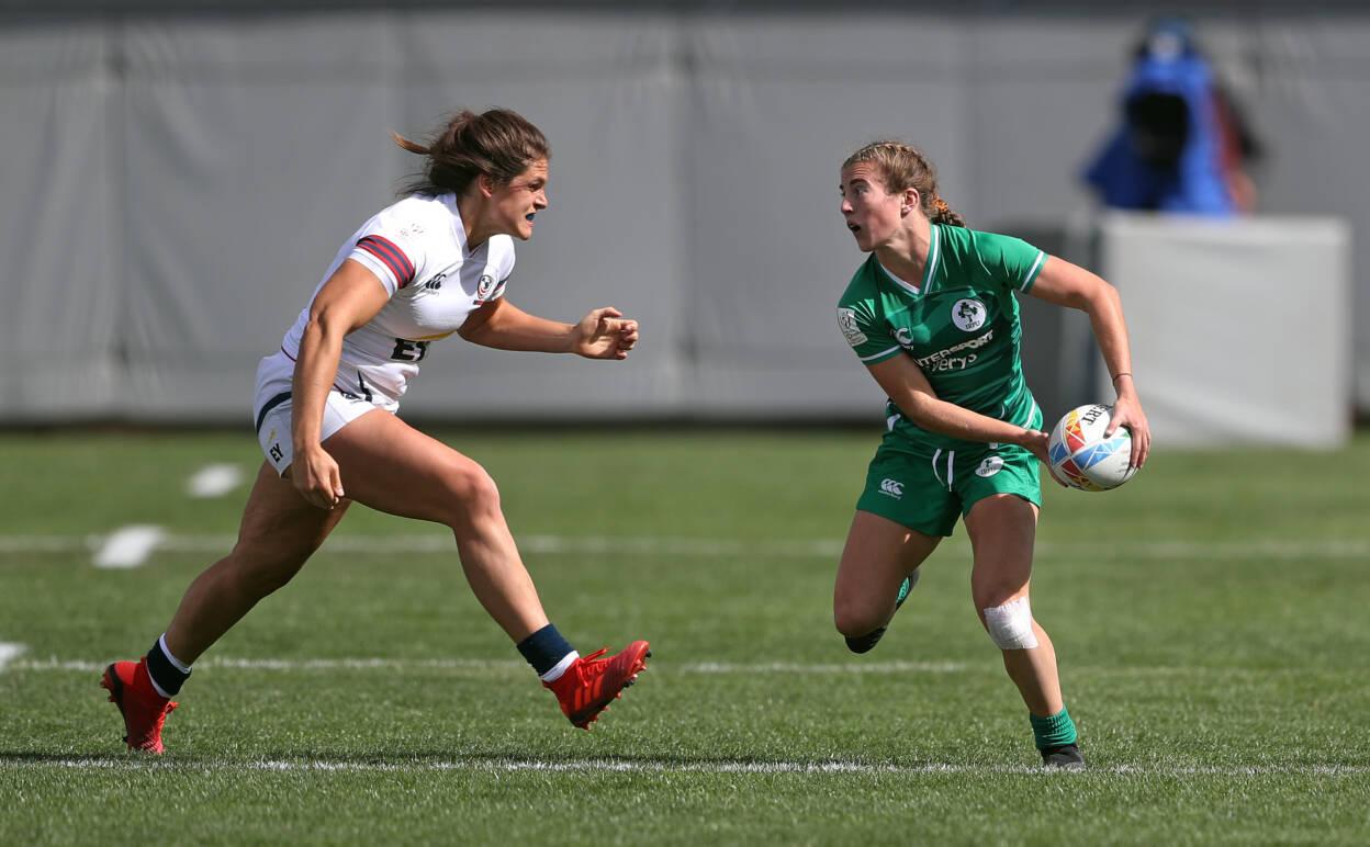 Ireland Women Battle Their Way To Glendale Quarter-Final