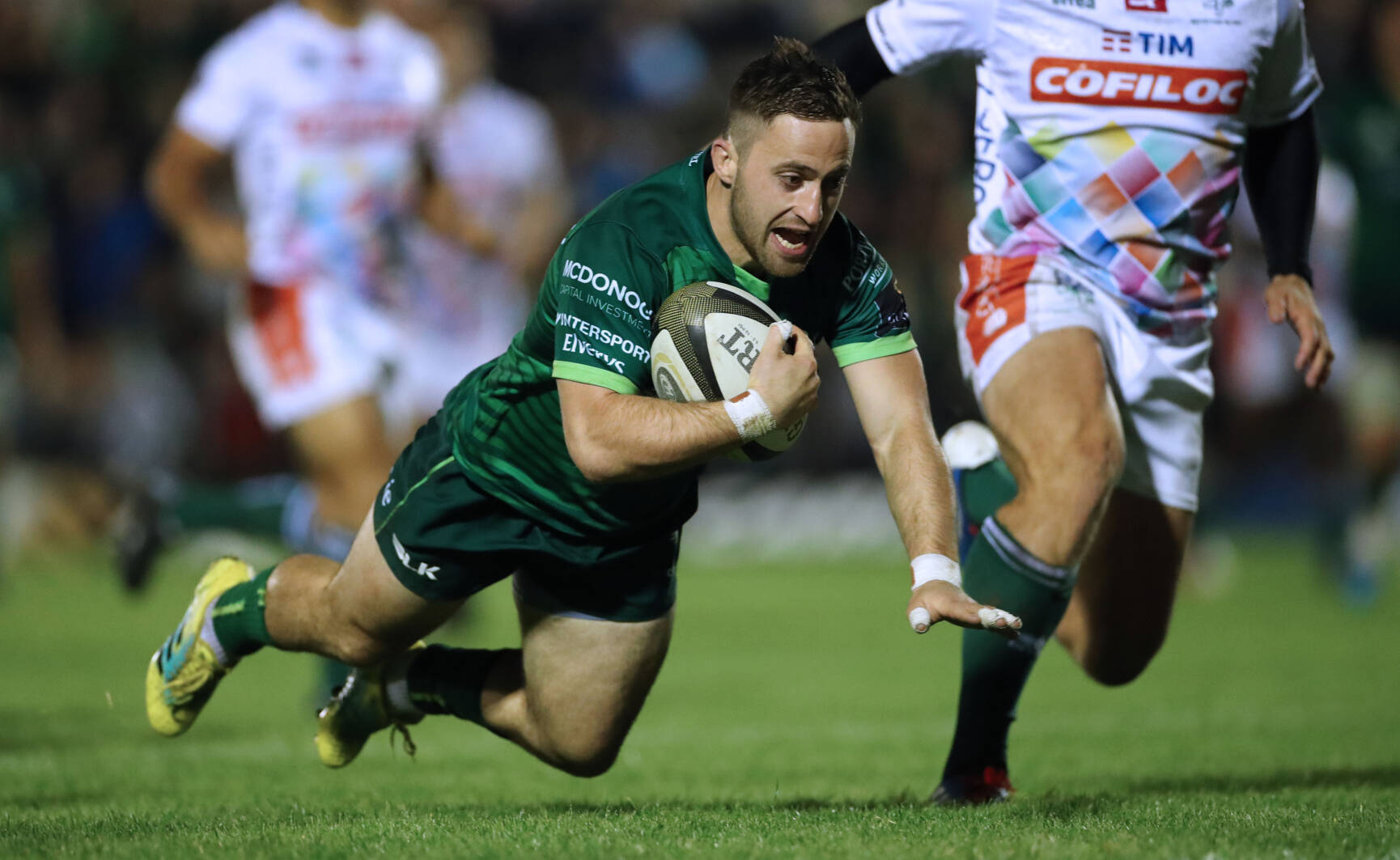 Blade And McCartney Bag Braces In Connacht's Opening Win