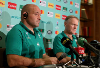 Ireland Rugby Press Conference, Shirouzuoike Park, Fukuoka, Japan 10/10/2019 Rory Best Mandatory Credit ©INPHO/Dan Sheridan