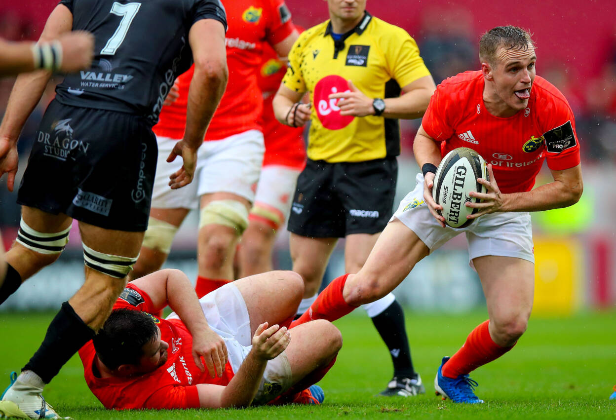 Bleyendaal And McCarthy Pair Up At Half-Back For Munster