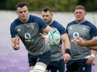 Ireland Rugby Squad Training, Urayasu Park, Aichi, Japan 17/10/2019 James Ryan Mandatory Credit ©INPHO/Dan Sheridan