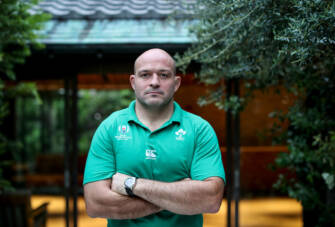 Ireland Rugby Press Conference, Hilton Tokyo Bay, Aichi, Japan 17/10/2019 Rory Best Mandatory Credit ©INPHO/Dan Sheridan