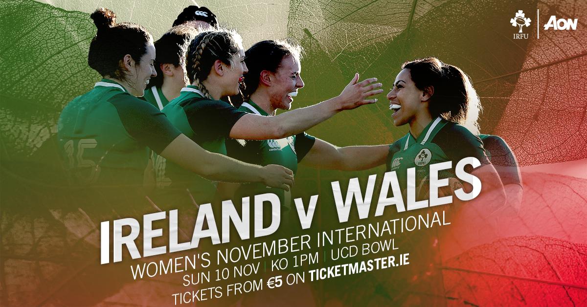 Ireland Women v Wales Women