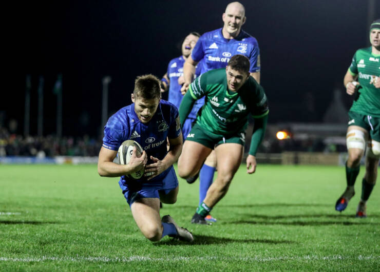 Leinster Dominate Connacht In One-Sided PRO14 Derby