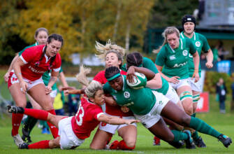 Djougang And Breen Touch Down For Ireland Women Against Wales