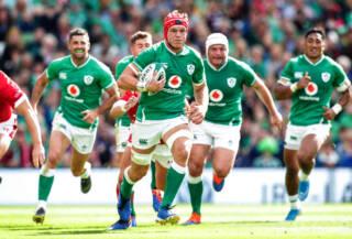 Ireland's Josh van der Flier 7/9/2019