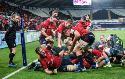 Cronin Try Ensures Munster Take Home Maximum Haul