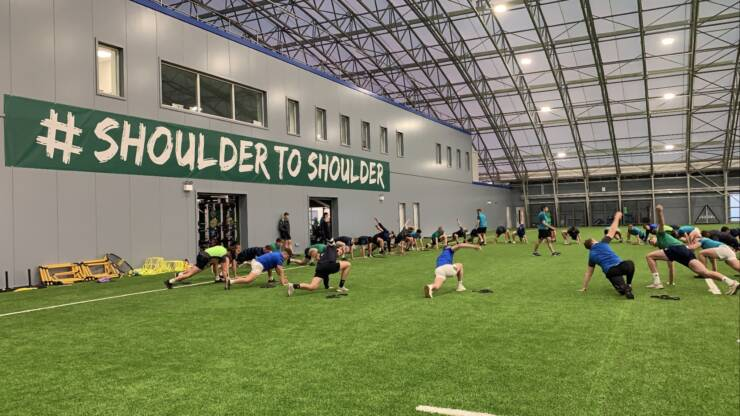 Extended Ireland Under-20s Squad Assembles For First Camp