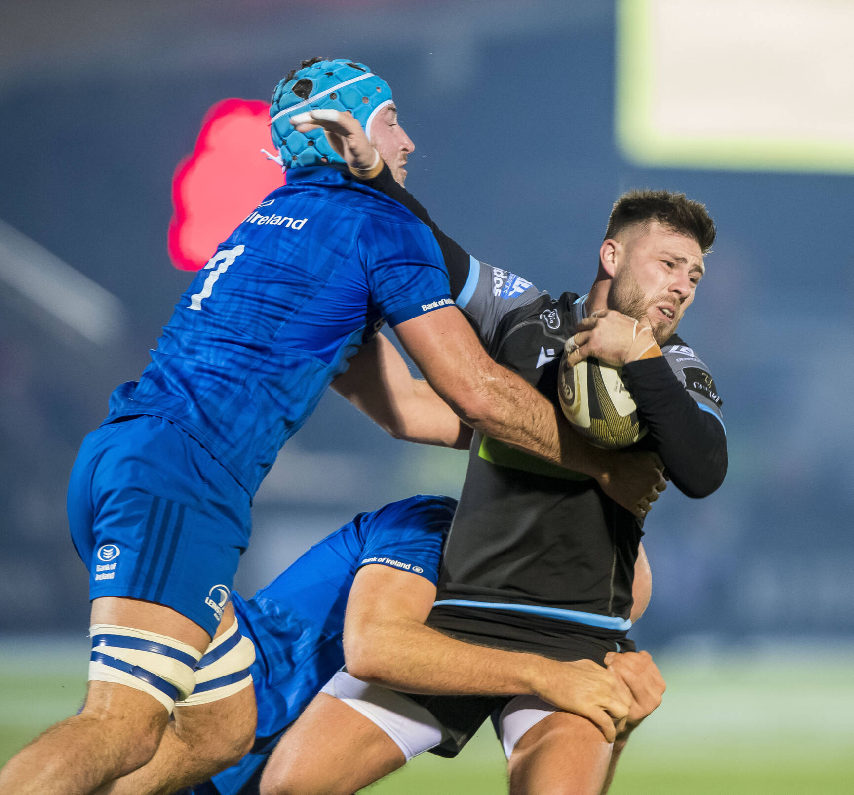 Connors Leads Leinster's Defensive Effort In Rare Scotstoun Triumph