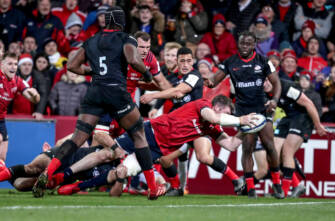 Munster Grind Out Vital Win Thanks To O'Mahony Try