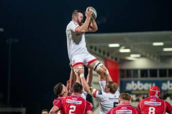 Ulster Centurion O'Connor Pairs Up With Brother In Second Row