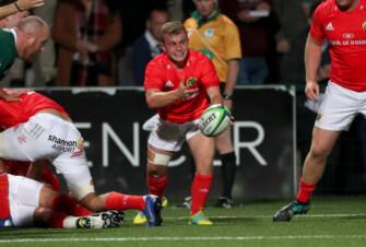 Casey To Make First PRO14 Start For Munster