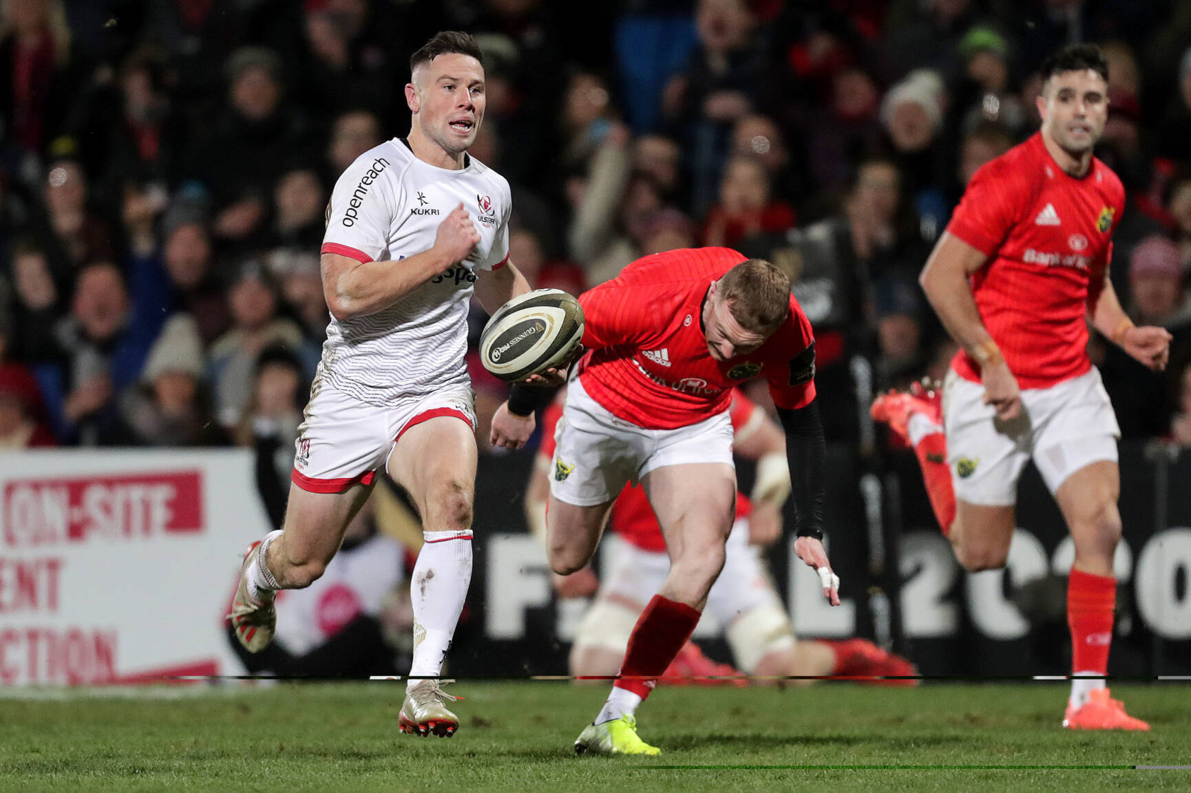 McCloskey And Cooney Lead Ulster To Five-Try Derby Triumph