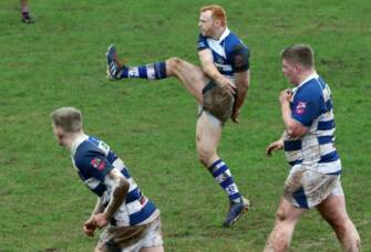 Energia All-Ireland League Division 2B Highlights: Dungannon 17 Belfast Harlequins 17