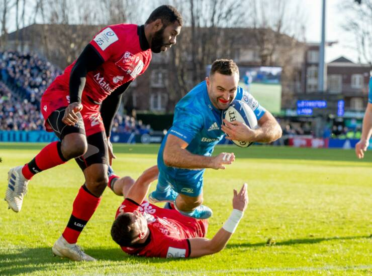Six-Try Triumph Keeps Leinster On Course For Top Seeding