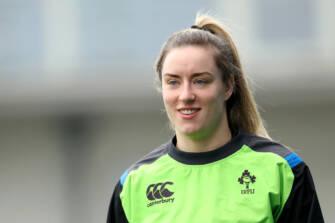 Ireland Women's Rugby Captain's Run, Donnybrook, Dublin 24/2/2018 Edel McMahon Mandatory Credit ©INPHO/Oisin Keniry