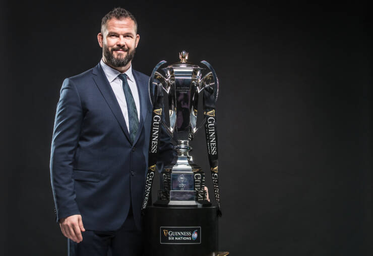 2020 Guinness Six Nations Championship Launch, Tobacco Dock, London, England 22/1/2020 Ireland head coach Andy Farrell Mandatory Credit ©INPHO/Dan Sheridan