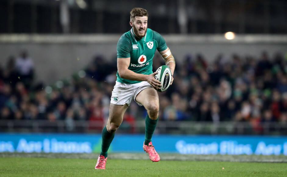 Guinness Series, Aviva Stadium, Dublin 18/11/2017 Ireland vs Fiji Ireland's Stuart McCloskey Mandatory Credit ©INPHO/Ryan Byrne