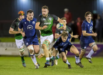 Ireland Club XV Notch Five Tries In Netherdale