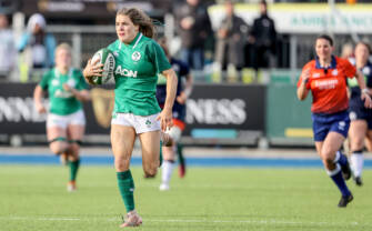 Parsons' Intercept Try Propels Ireland Women Over Finish Line