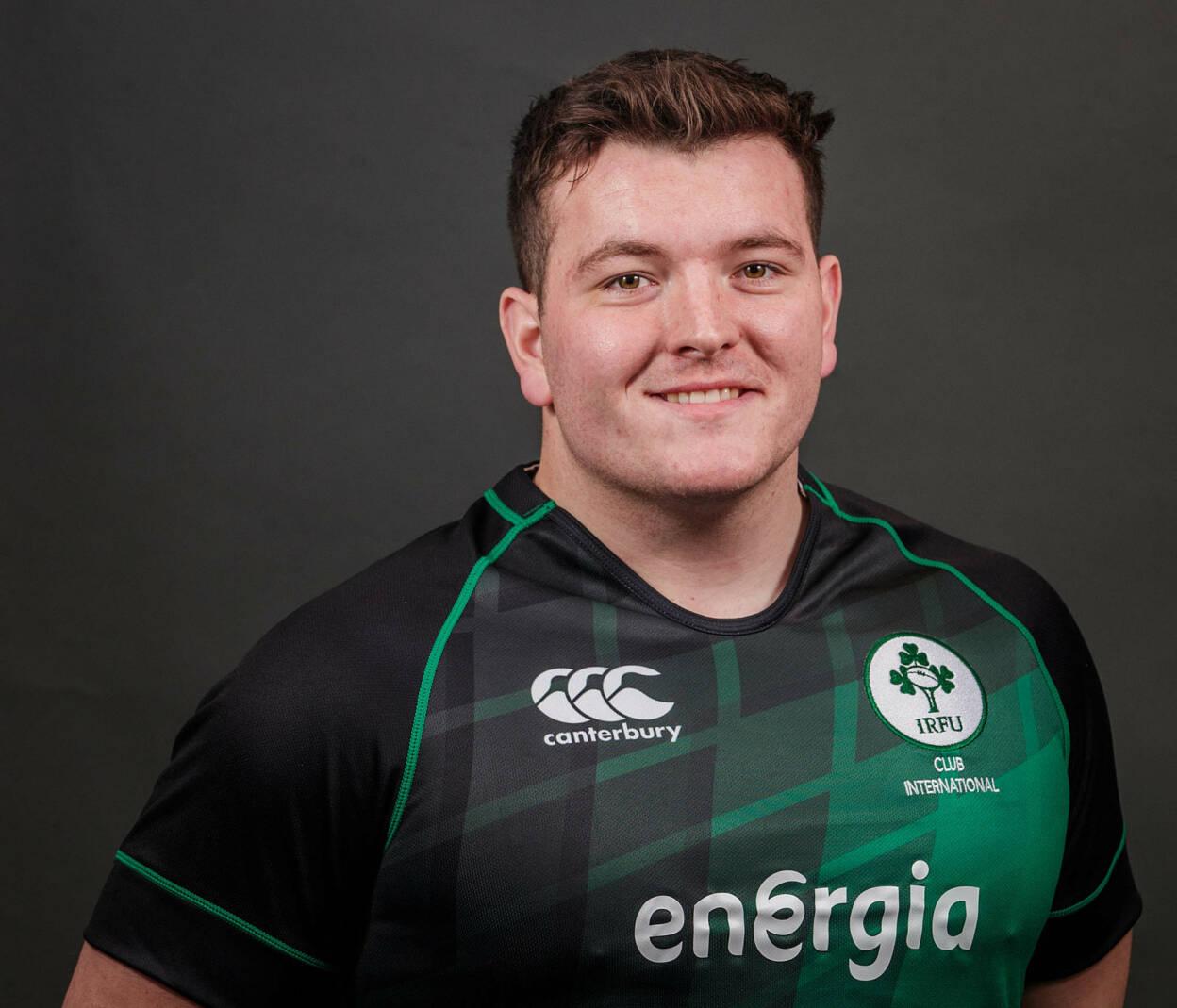 Ireland Club XV Jersey One To Cherish For Corrie Barrett