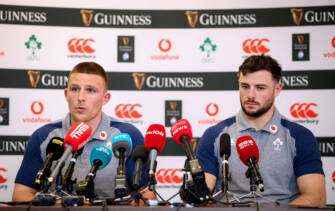 Andrew Conway and Robbie Henshaw 6/2/2020