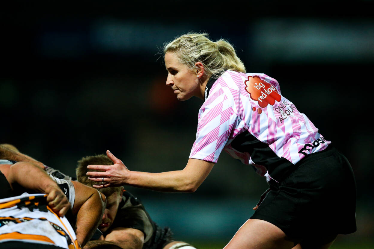 Joy Neville On Women's Six Nations Duty During Packed Weekend For IRFU Referees