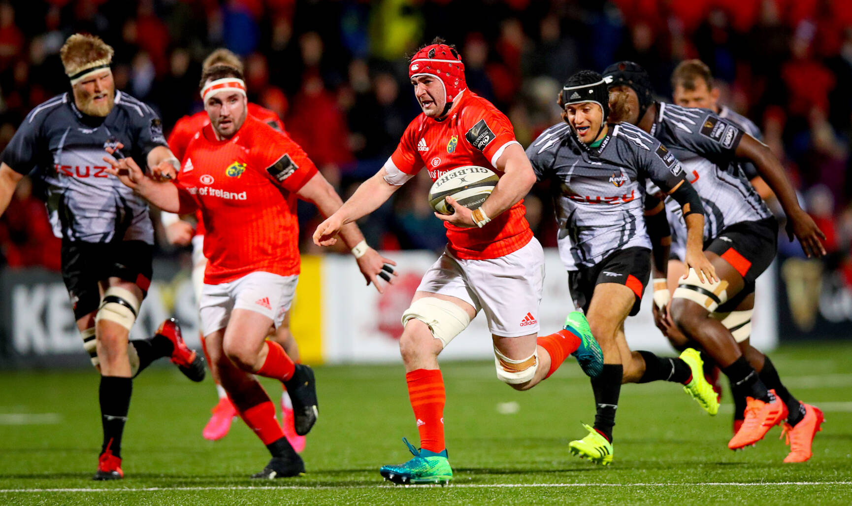 Hodnett Helps Himself To Debut Try In Record Munster Win