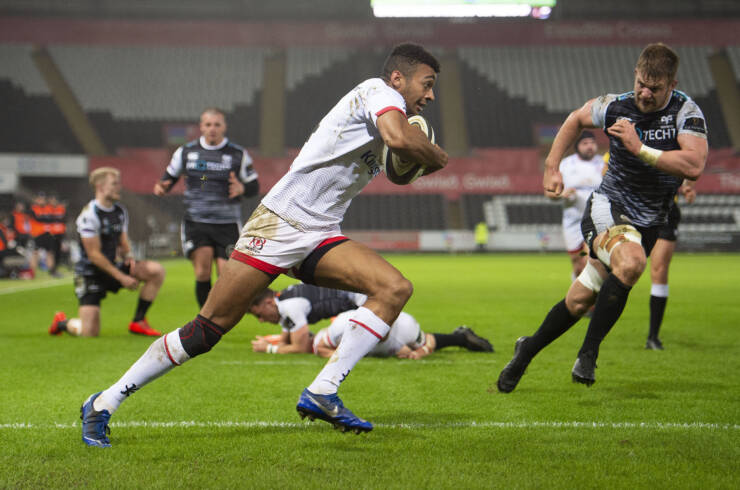 Ulster's Stuttering Performance Not Enough Against Resilient Ospreys