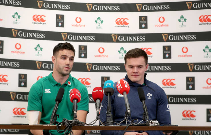 Conor Murray and Jacob Stockdale 19/2/2020