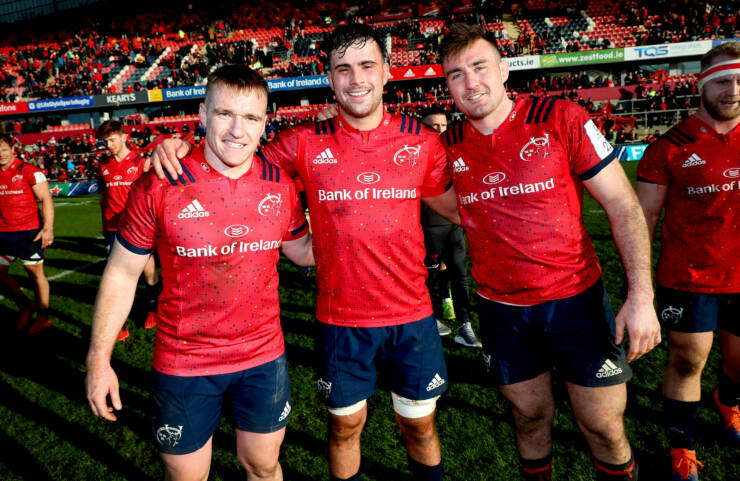 It Is A Family Affair For Munster In Milan