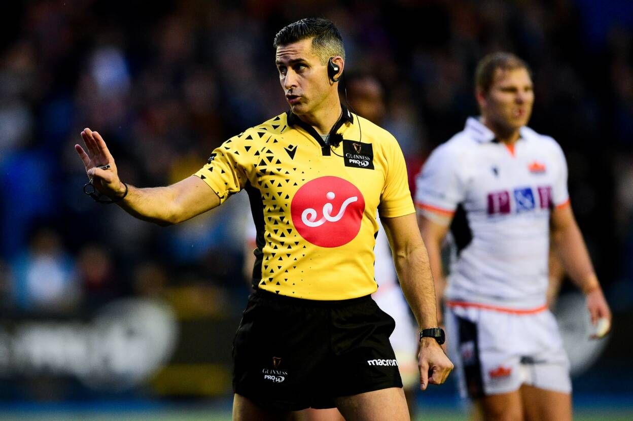 IRFU Referees On Duty As PRO14 & Energia AIL Kick Back Into Action