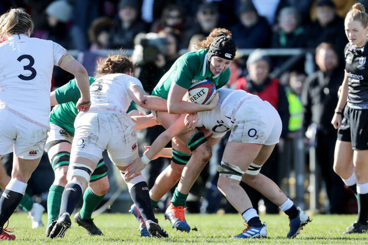 Ireland Women's Winning Start Ended By Five-Try England