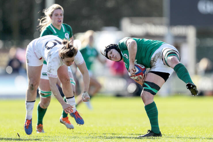 Ireland Women Show Defensive Grit In Improved Second Half Display